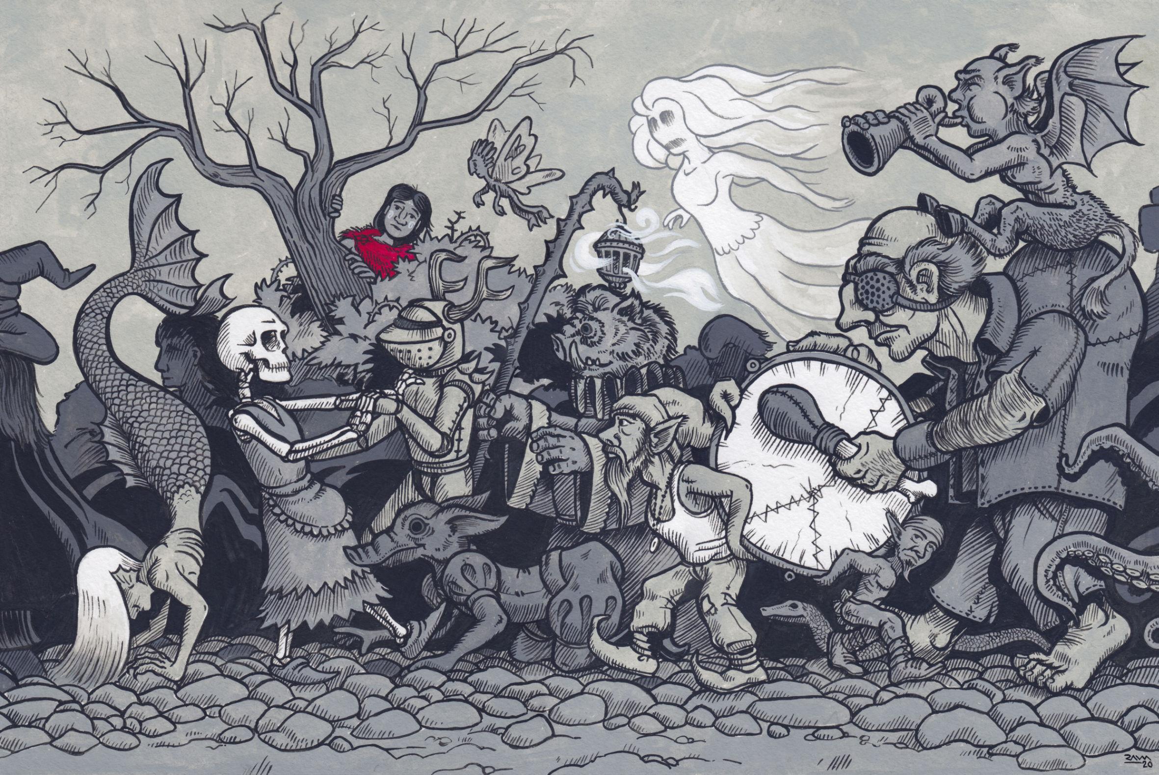 La marcha de la gentuza