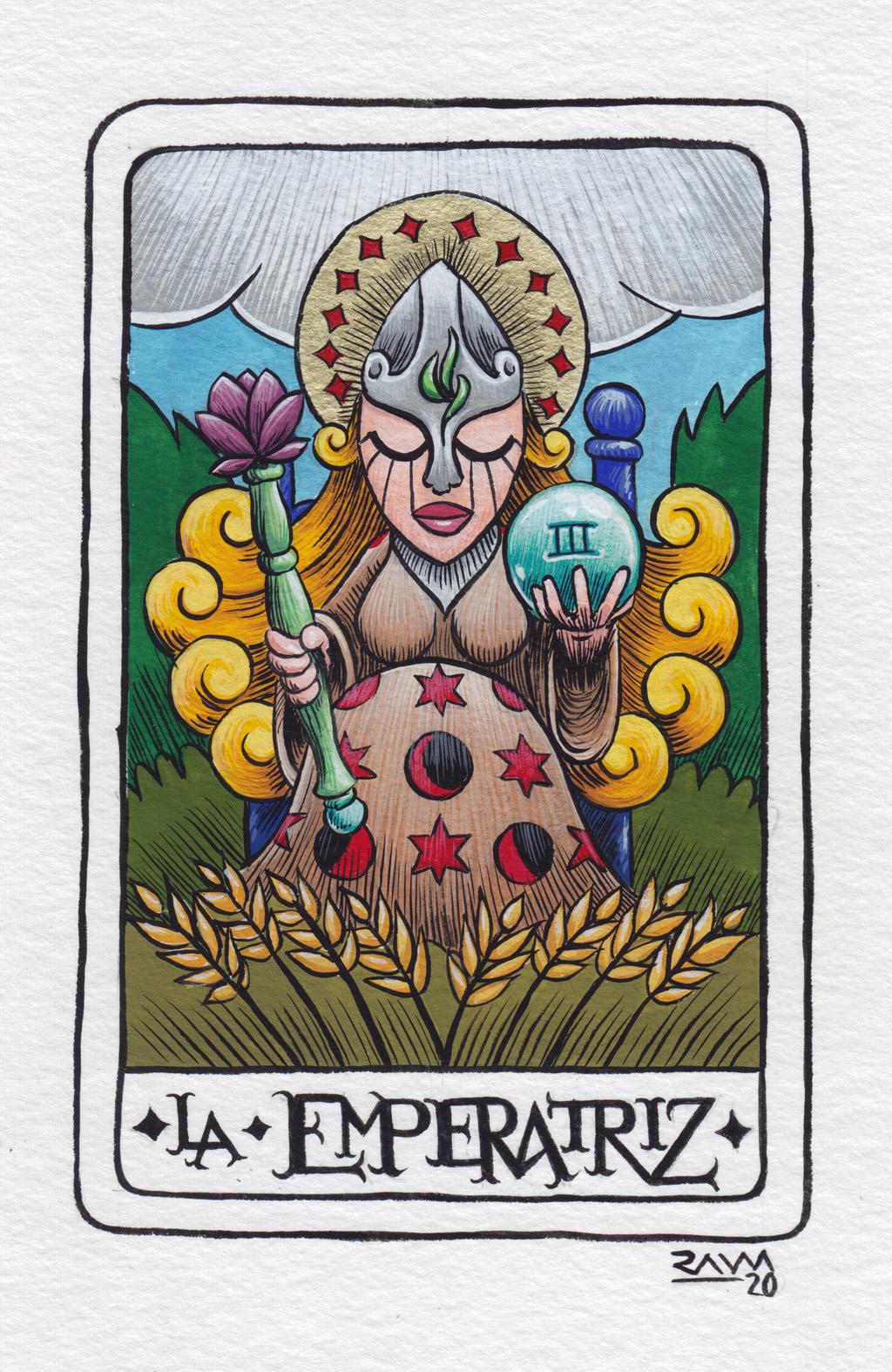 Tarot: La Emperatriz