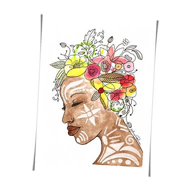 Preta flor