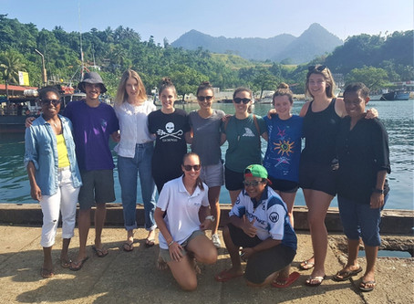 Trip 2 of the Conflict Islands Turtle Conservation Internship