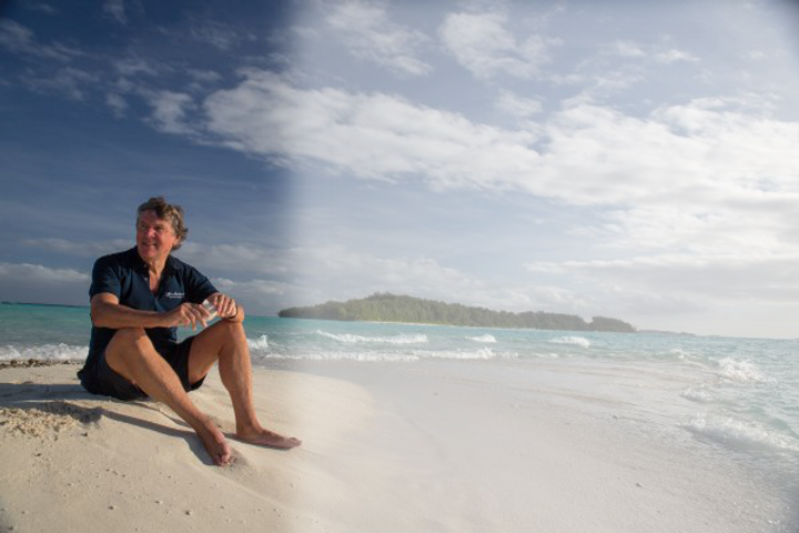 Ian Gowrie-Smith, owner of the Conflict Islands