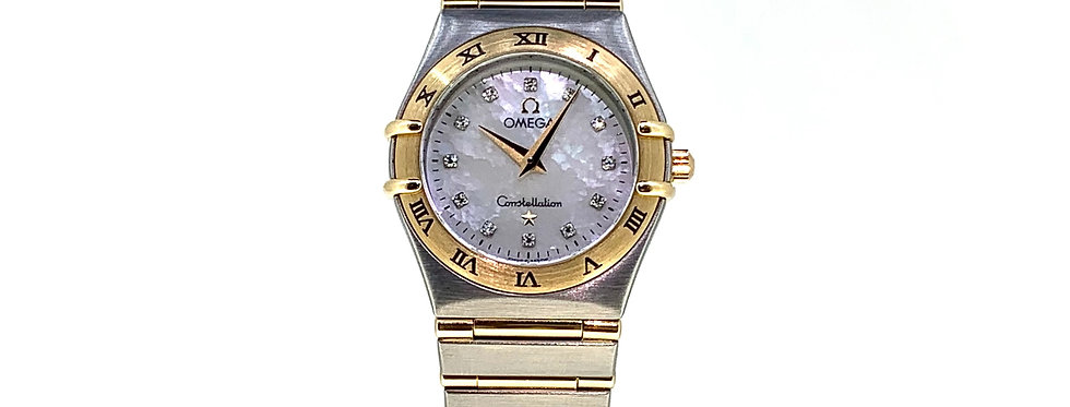OMEGA CONSTELLATION MOTHER OF PEARL DIAMONDS - 2.200€