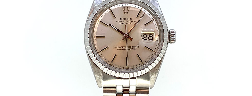 ROLEX DATEJUST 1603 SILVER DIAL - 4.700€