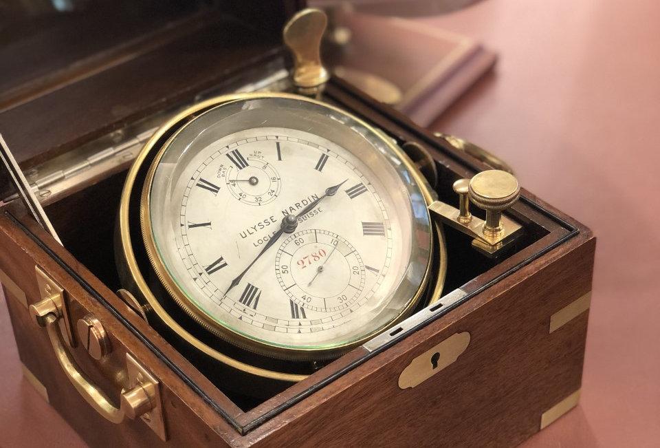 ULYSSE NARDIN MARINE CHRONOMETER - 4.500€