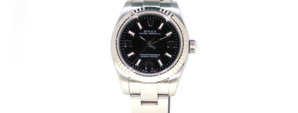 ROLEX OYSTER PERPETUAL 26 FULL SET - 176234 - 4.900€