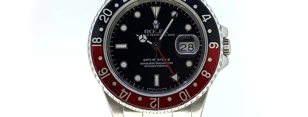 "ROLEX GMT-MASTER II ""FAT LADY"" - 16760 - 12.800€"