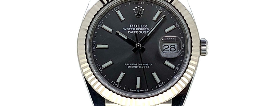 ROLEX DATEJUST 41 SLATE DIAL - 126334 - 11.300€
