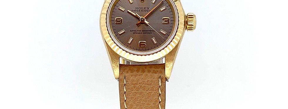 ROLEX OYSTER PERPETUAL 26 YELLOW GOLD - 3.200€