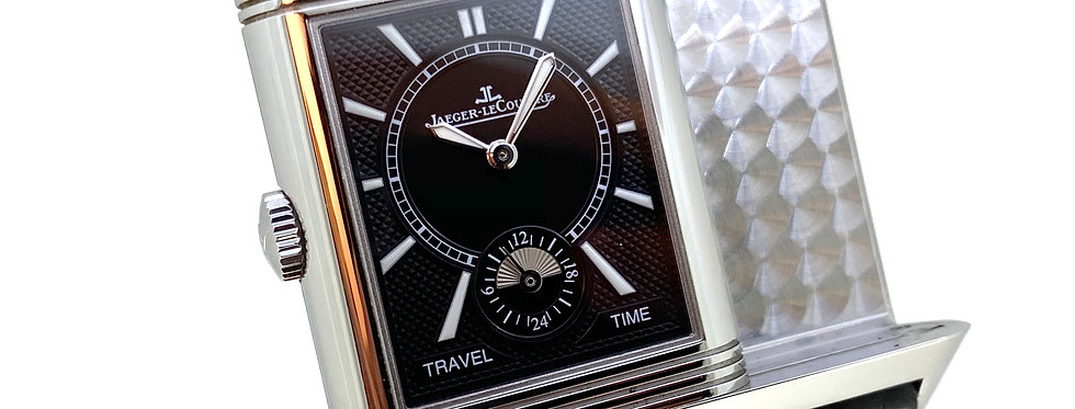 JAEGER-LECOULTRE REVERSO TRAVEL TIME - 7.500€
