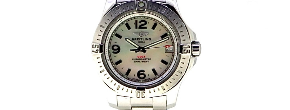 BREITLING COLT MOTHER OF PEARL DIAL - 2.200€