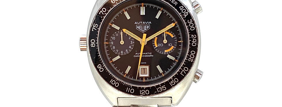 HEUER AUTAVIA ORANGE BOY FULL SET - 6.400€