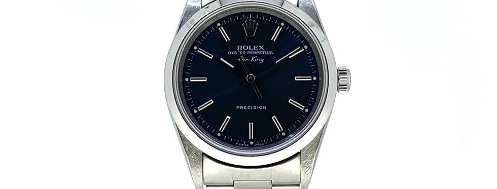 ROLEX AIR-KING BLUE DIAL - 14000 - 3.900€