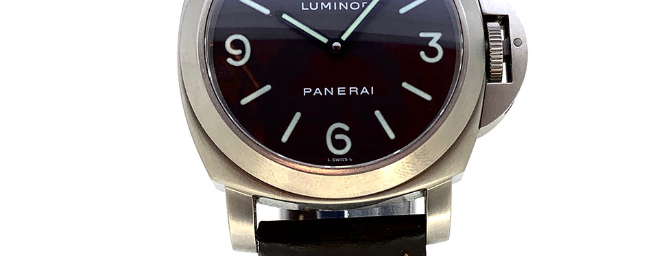 PANERAI LUMINOR BASE TITANIUM - 5.300€