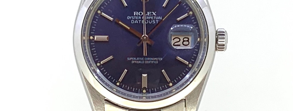 ROLEX DATEJUST 16000 BLUE DIAL - 5.800€