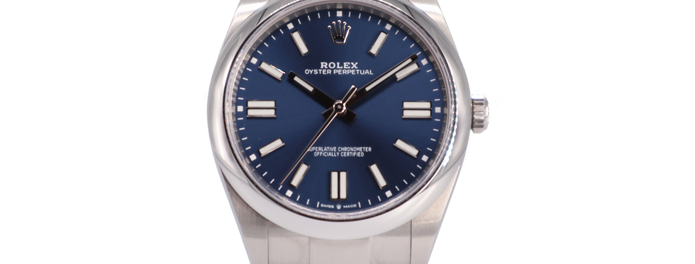 ROLEX OYSTER PERPETUAL 41 - 124300 - 8.500€