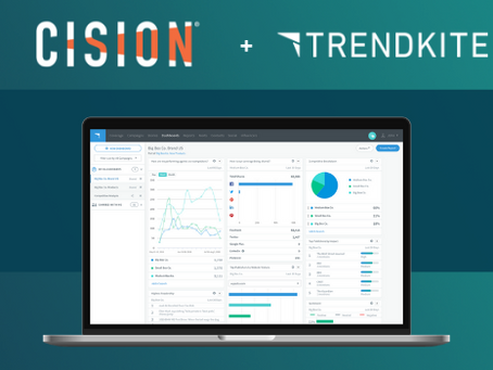 Cision® Expands Earned Media Management Leadership with the Addition of TrendKite