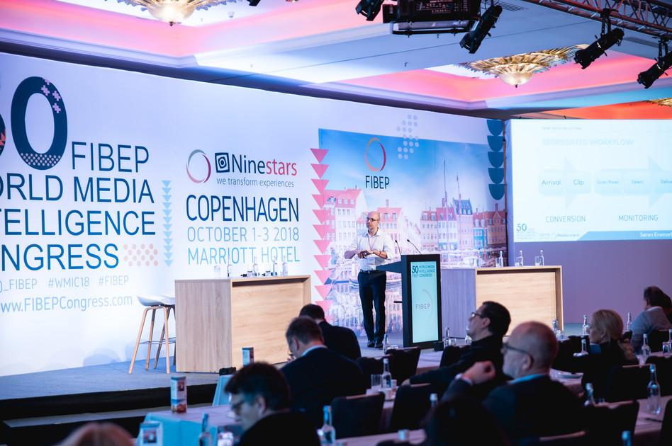 FIBEP World Media Intelligence Congress Copenhagen Day 02 2018