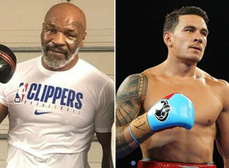 53 YEAR OLD MIKE TYSON SIGNS $1 MILLION DOLLAR DEAL FOR CHARITY FIGHT AGAINST 34 YEAR OLD SONNY BILL