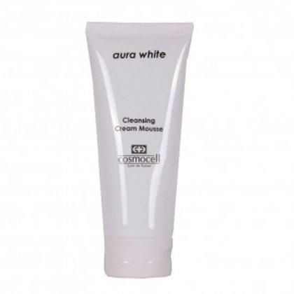 Aura white Cleansing Cream Mousse 100ml