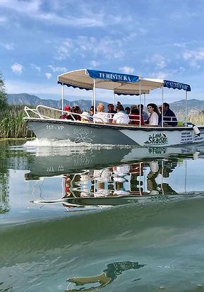 lake skadar boat trips