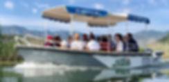 Boat trips at lake Skadar