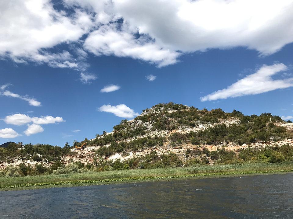 Nice hill at Skadar lake