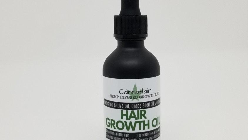 CannaHair Growth Oil