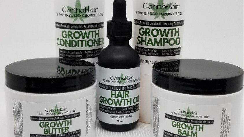 5 Pc CannaHair Growth System