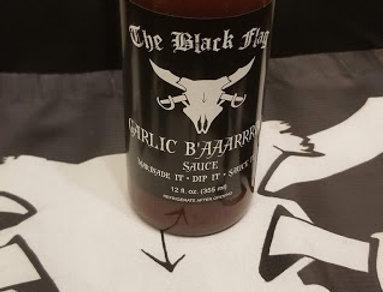 The Black Flag G'AAAAAARLIC BBQ Sauce