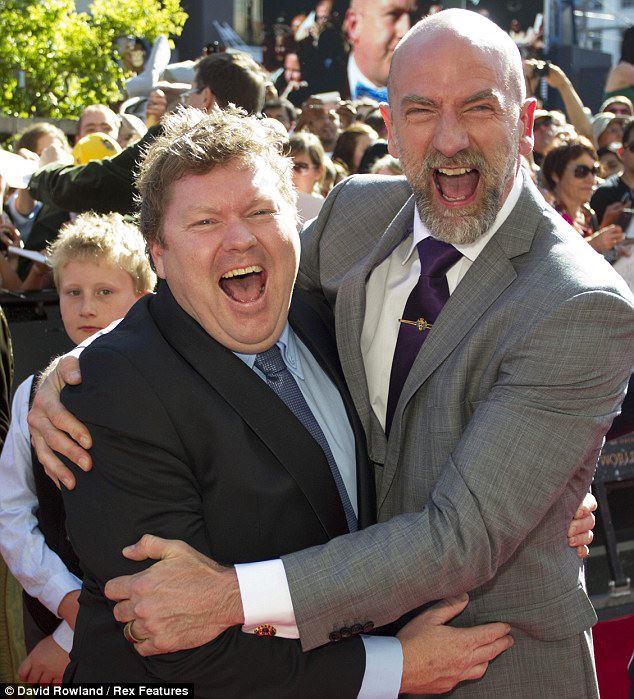 Bombur & Dwalin at Wellington Premiere