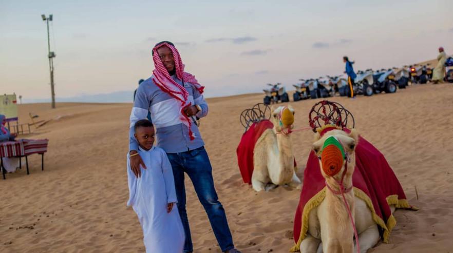 Tourist Photos With Camel