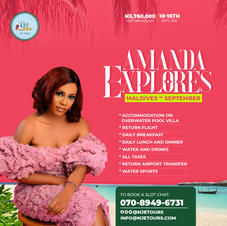 Explore Maldives with Amanda