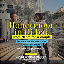 Honey Moon In Dubai