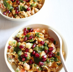 Healthy Breakfast Chaat