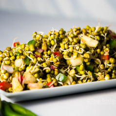 Sprouted Moong Chaat