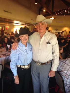 Marsha & Al in Cowboy Hats