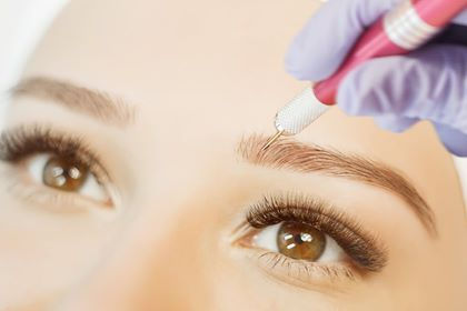 Microblading with 6-10 week touch-up