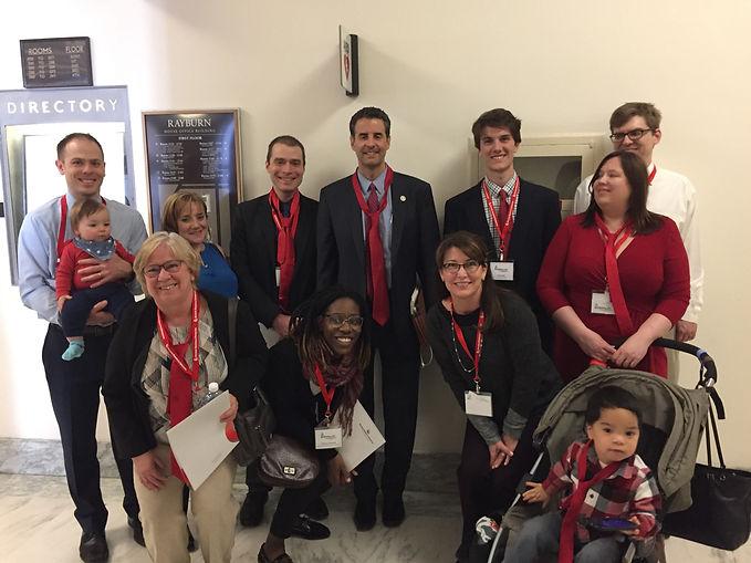 Chrissy Holt, John Sarbanes, Maryland Senate, MD, Hemophilia, Healthcare, Medicare for All