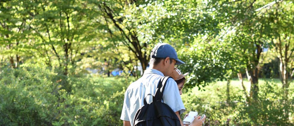 아빠와 나, 여의도 공원, 2017