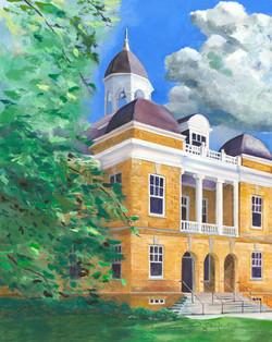 old main, freed hardeman university,