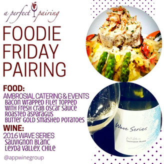 Foodie Friday Pairing