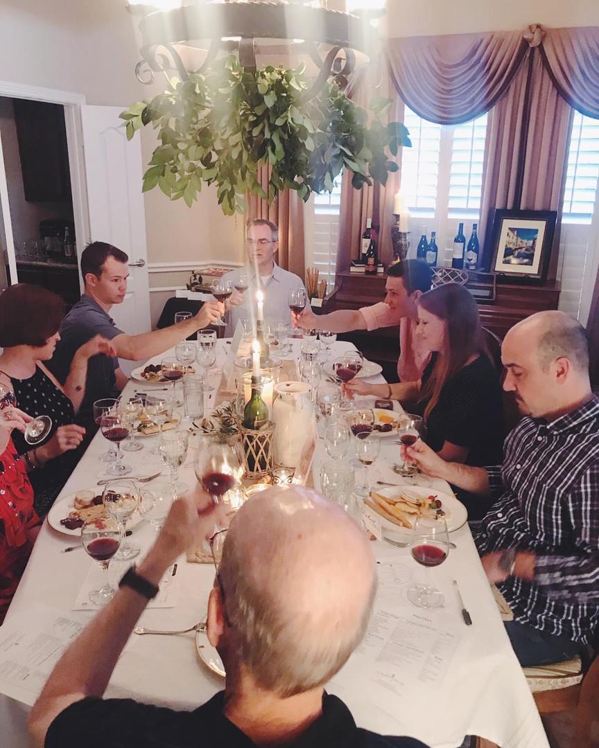 In-Home Wine Pairing Dinner