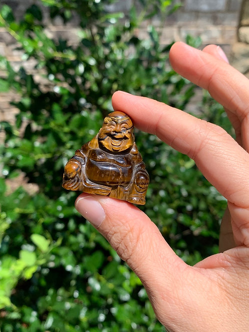 Tiger Eye Buddha