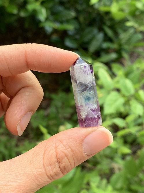 Rainbow Fluorite Mini Point
