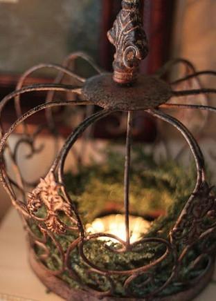 Antieke decoratie kroon