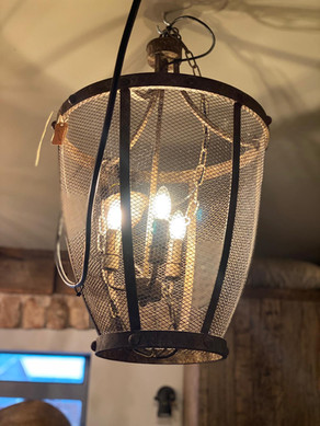 Hanglamp roest, 3 lichts