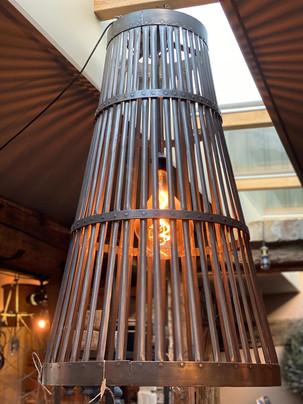 Industriële hanglamp XL iron