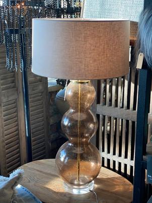Tafellamp glas