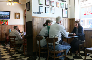 With it's black-and-white checkered floor and pressed tin ceiling, City Café has become an iconic eating establishment in downtown Murfreesboro.