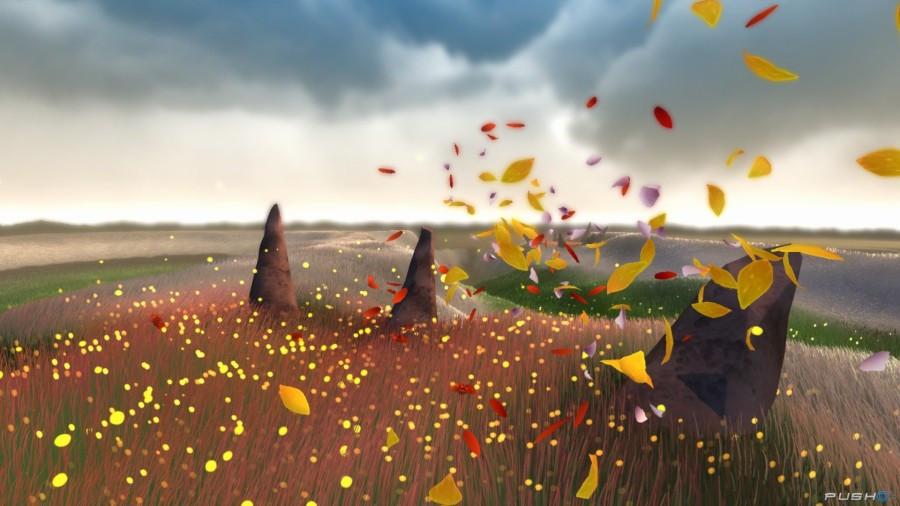 A screenshot of Flower. Courtesy of pushsquare.com.